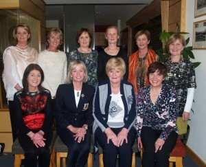 Back Maureen Sheridan, Kathryn Mc Guinness, Elaine Ward, Mags Coburn Gillian Murphy, Mary Connor Front Rita Moriarty, Lady Captain Anne, Shiela Gaffney Sponsor, Bríd Rocks.