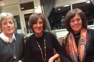 Siobhan Keane, Fiona McLoughlin & Geraldine Gorham enjoying the new members night at Dundalk Golf Club.