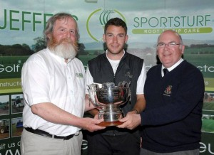 Rory McNamara of Headford GC winner of the Dundalk SEnior SCratc
