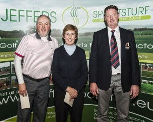 Scotch Mixed Foursomes Winners